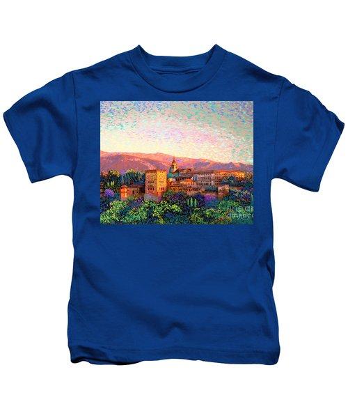 Alhambra, Granada, Spain Kids T-Shirt