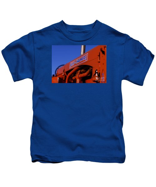 Allis-chalmers Vintage Tractor Kids T-Shirt