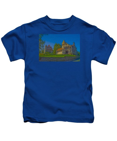 Ames Hall And Ames Free Library Kids T-Shirt