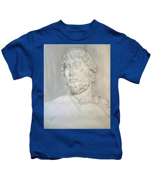 Ancient Greek Statue Kids T-Shirt