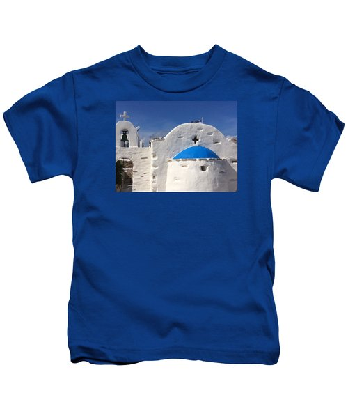 Kids T-Shirt featuring the photograph Antiparos Island Greece  by Colette V Hera  Guggenheim