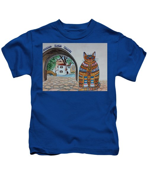 Arneson Theatre Cat Kids T-Shirt