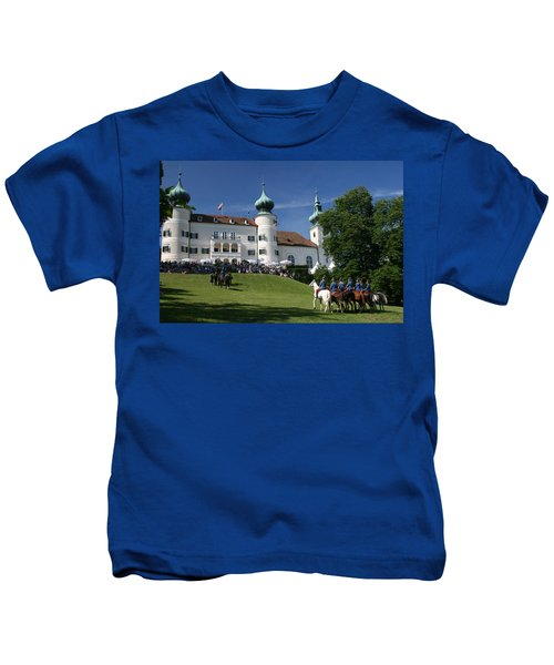 Artstetten Castle In June Kids T-Shirt