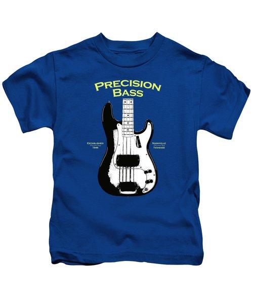 Fender Precision Bass 58 Kids T-Shirt by Mark Rogan