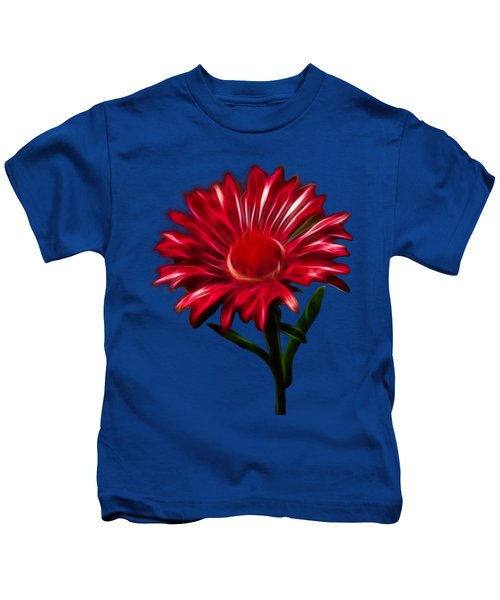 Red Daisy Kids T-Shirt