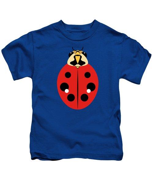 Ladybug Graphic Red Kids T-Shirt