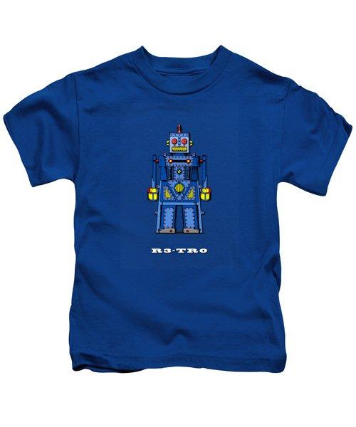 R3 Tr0 Robot Kids T-Shirt