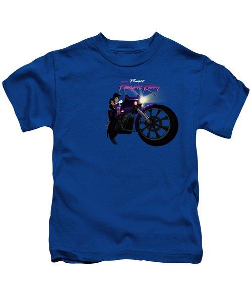 I Grew Up With Purplerain Kids T-Shirt