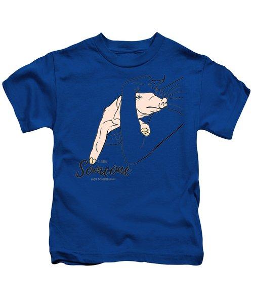 I Am Someone Kids T-Shirt