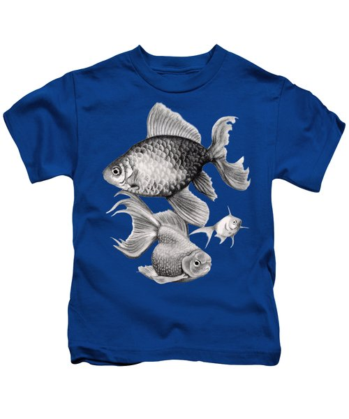 Goldfish Kids T-Shirt by Sarah Batalka