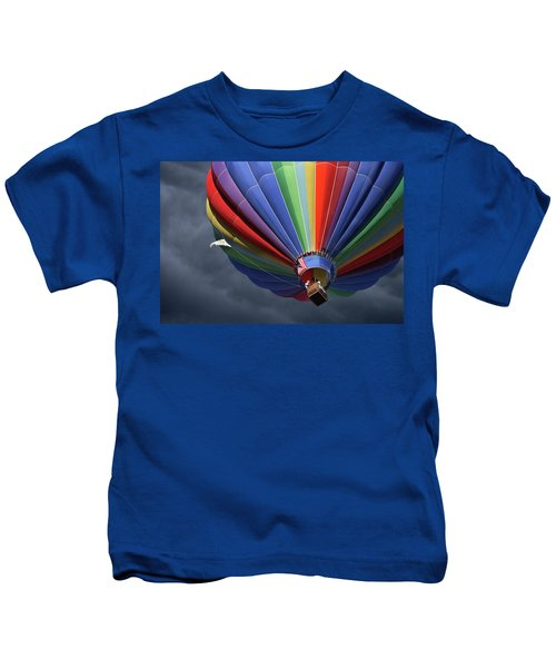 Ascending To The Storm Kids T-Shirt
