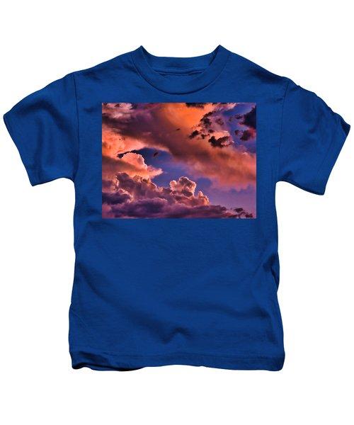 Baby Dragon's Fledgling Flight Kids T-Shirt