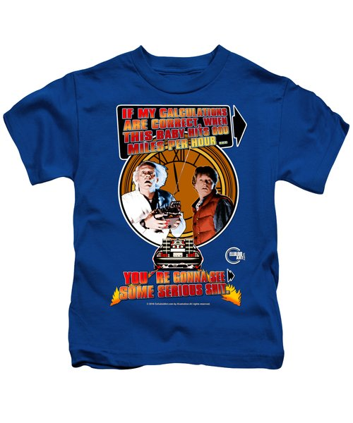 Back To The Future Kids T-Shirt