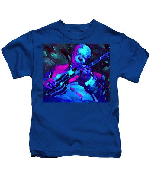 Bb Sings The Blues Kids T-Shirt