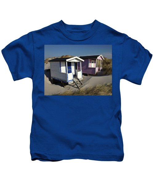 Beach Houses At Skanor Kids T-Shirt