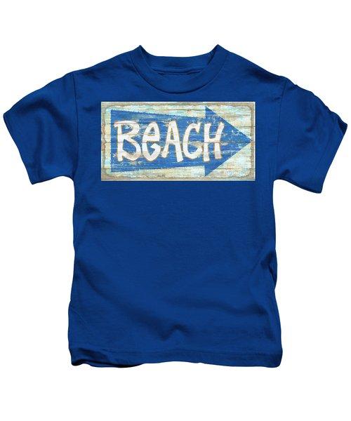 Beach Sign Kids T-Shirt