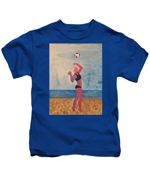 Beach Volleyball Kids T-Shirt