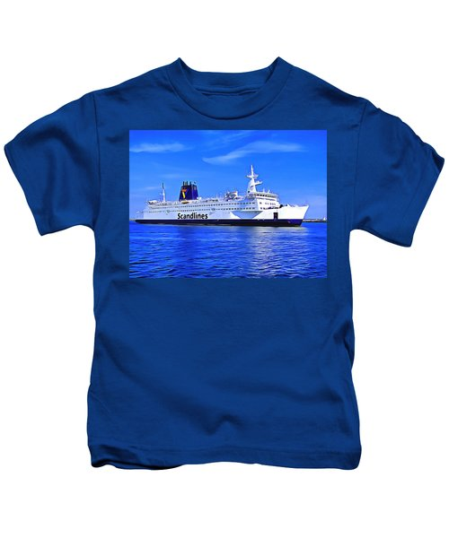 Beautiful Ferry Kids T-Shirt