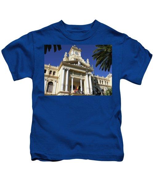 Beautiful Malaga City Hall Kids T-Shirt