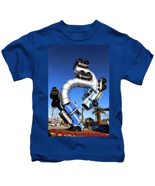 Big Rig Jig Balancing In Vegas Kids T-Shirt