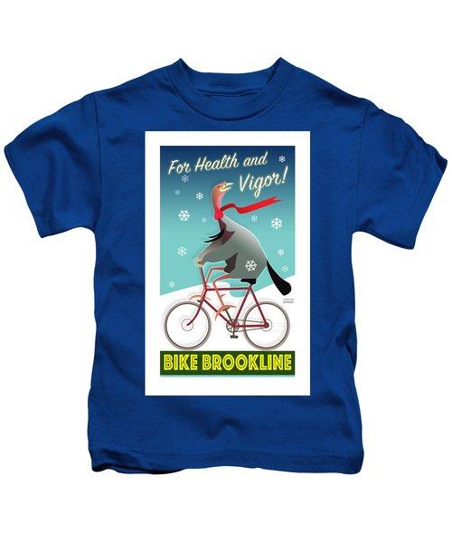 Bike Brookline Kids T-Shirt