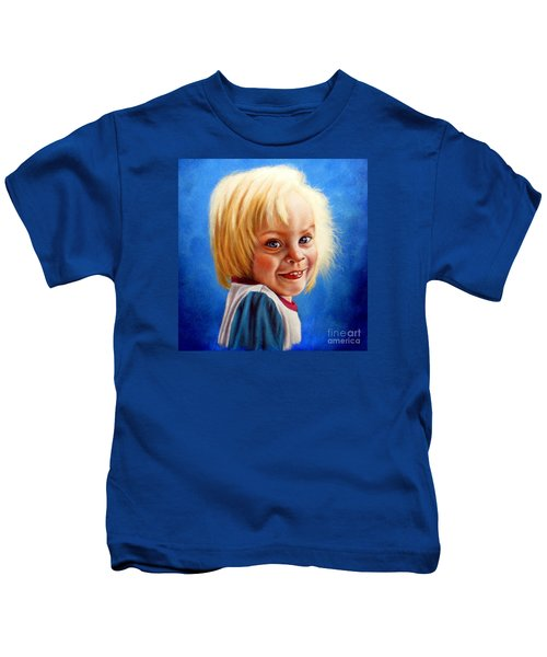 Bite Your Tongue  Kids T-Shirt