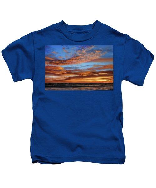Blazing Sky Kids T-Shirt