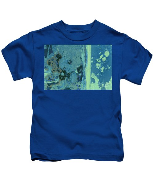 Blue Abstraction Kids T-Shirt