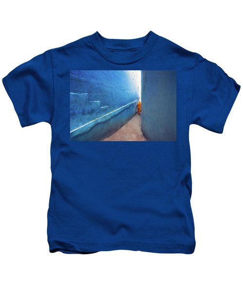 Blue Alleyway Kids T-Shirt
