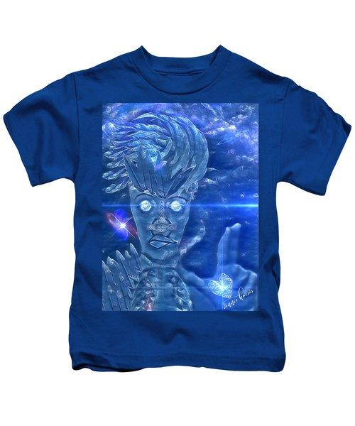 Blue Avian Kids T-Shirt