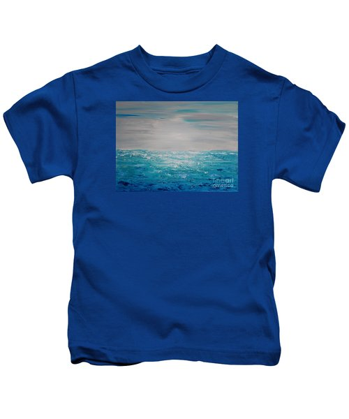 Blue Beach Kids T-Shirt