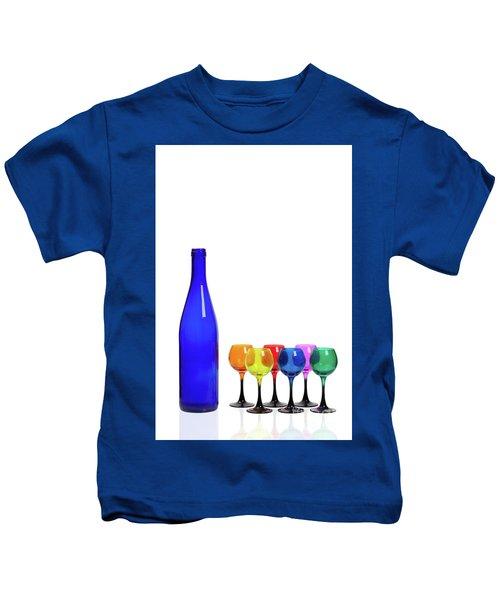 Blue Bottle #2429 Kids T-Shirt