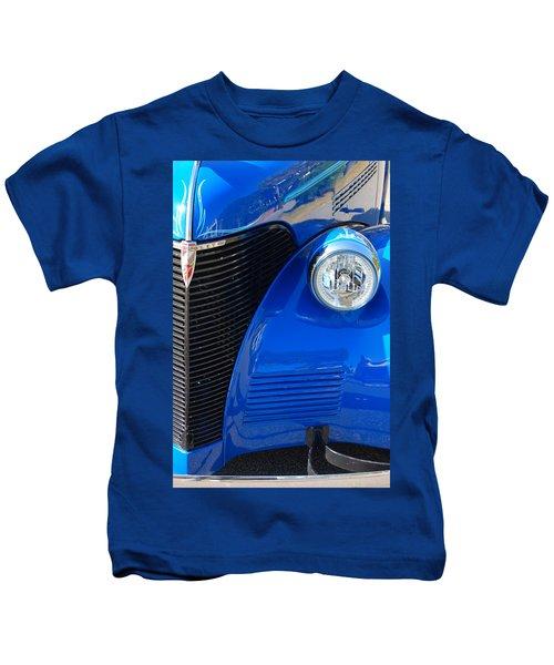 Blue Chevy Kids T-Shirt