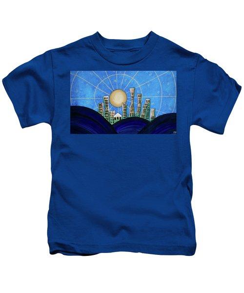Blue City  Kids T-Shirt