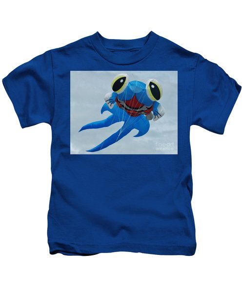 Blue Fish 2 Kids T-Shirt