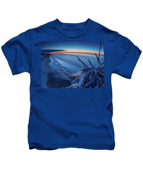 Blue Hour Fisheye Kids T-Shirt