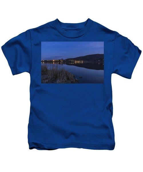Blue Hour Retreat Meadows Kids T-Shirt