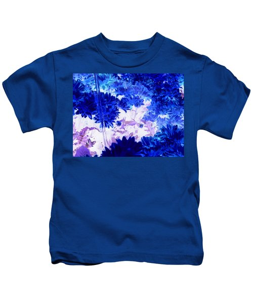Blue Mums And Water Kids T-Shirt