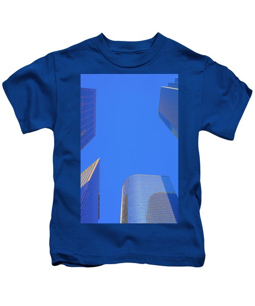 Blue Sky Over Bunker Hill Kids T-Shirt