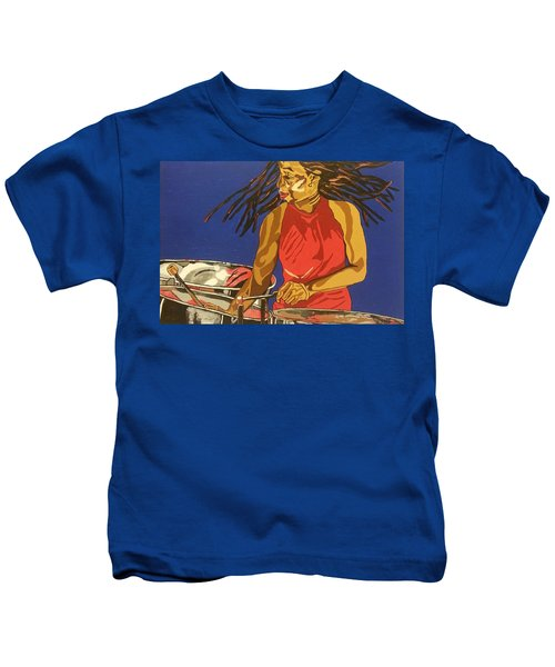 Blue Steel Kids T-Shirt