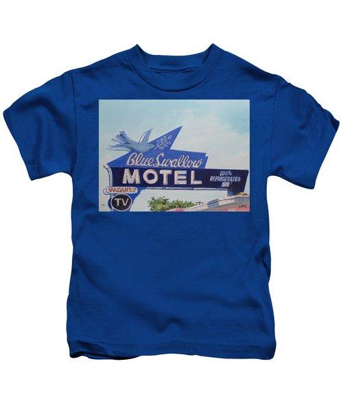 Blue Swallow Kids T-Shirt