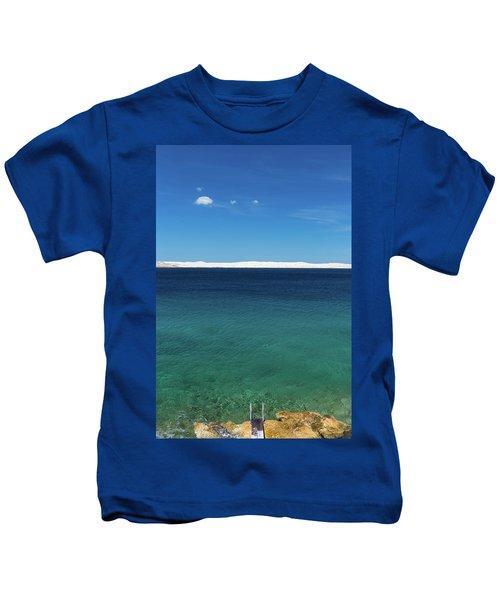 Bora In Velebit Kanal I Kids T-Shirt