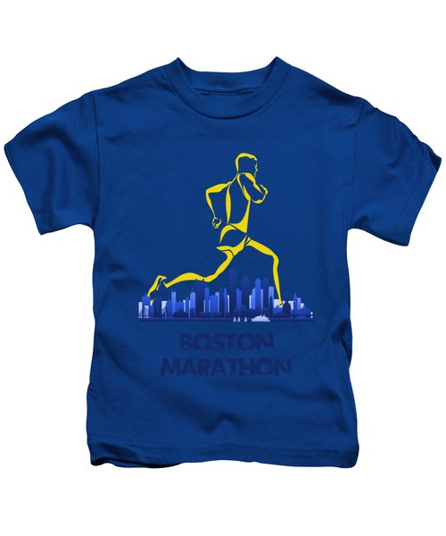 Boston Marathon5 Kids T-Shirt