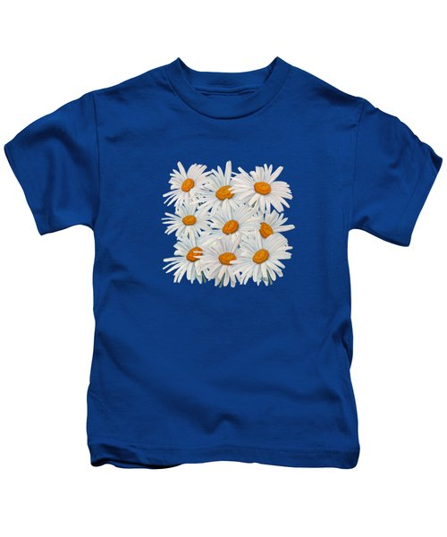 Bouquet Of White Daisies Kids T-Shirt