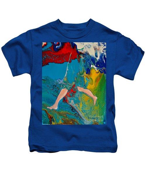 Breaking Through Kids T-Shirt