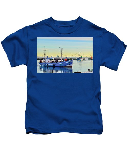 Bringing In The Day's Catch Kids T-Shirt
