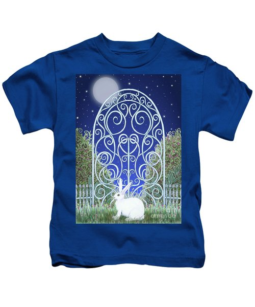 Bunny, Gate And Moon Kids T-Shirt