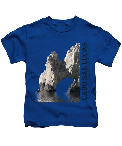 Cabo San Lucas Archway Kids T-Shirt