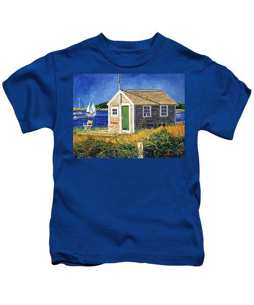 Cape Cod Boat House Kids T-Shirt