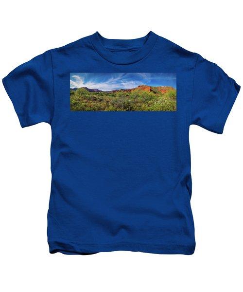 Caprock Canyon Panorama 2 Kids T-Shirt